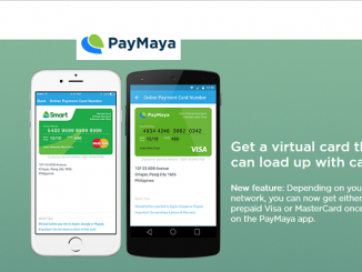 PayMaya Virtual Credit Card
