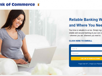 Bank of Commerce Savings Account