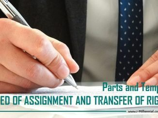 Deed of Assignment and Transfer of Rights (Parts and Template)