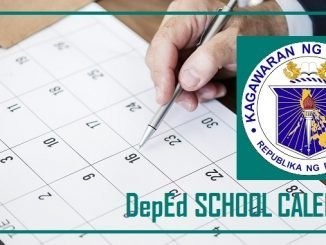 DepEd School Calendar for SY 2019-2020