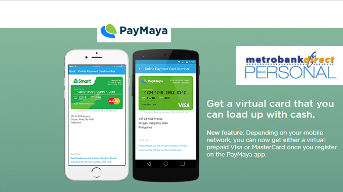 How to Load Up PayMaya Using Metrobank Direct (Online)