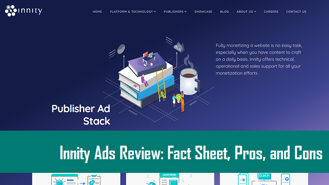 Innity Ads Review: Fact Sheet, Pros, and Cons