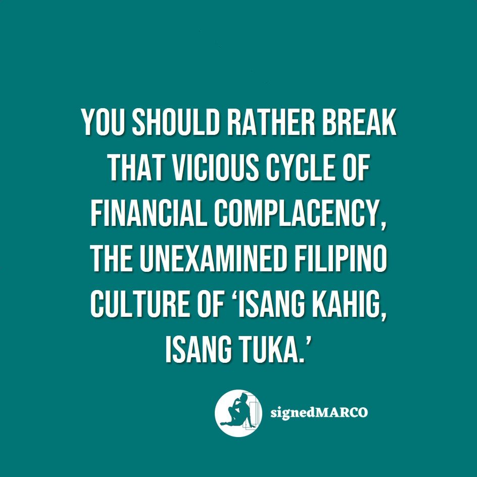 What Makes Saving Rather Hard for Most Filipinos (and Possibly for You)