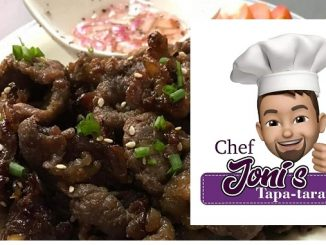 Chef Joni's Tapa-tarap: Marinating Life in Family Togetherness (Featured Startup Business)